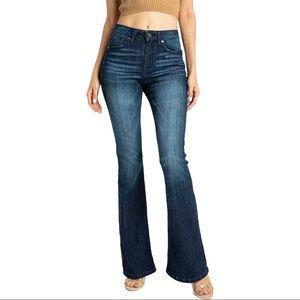 KanCan Dark Wash Flare Denim Jeans